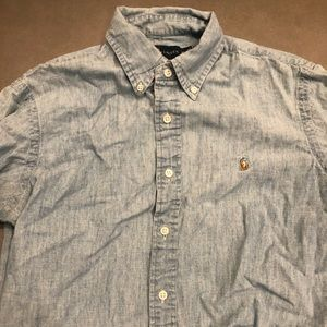 Men's Polo Ralph Lauren Jean Button Down Size M